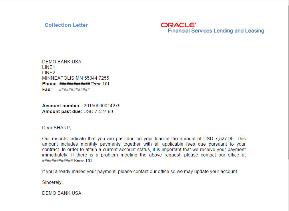 Ach Payment Request Letter