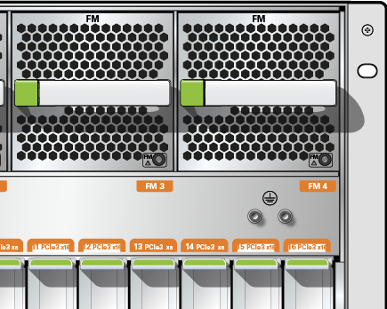 Connect the Chassis Ground Wire - SPARC T8-4 Server Installation Guide