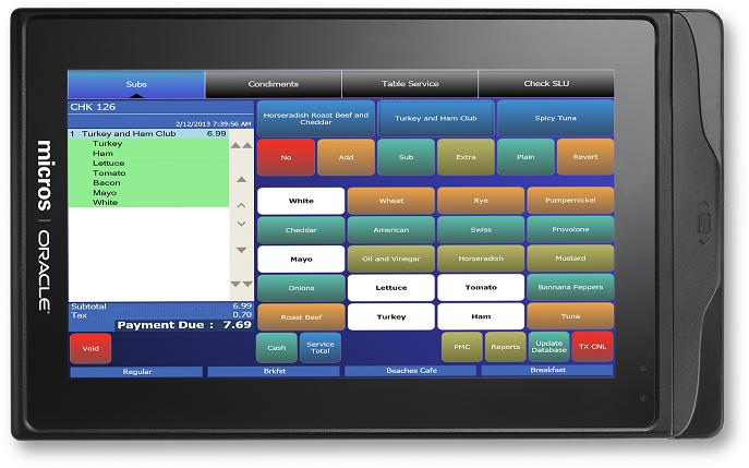 Micros Tablet R Series