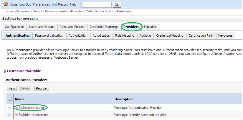 External LDAP Configuration
