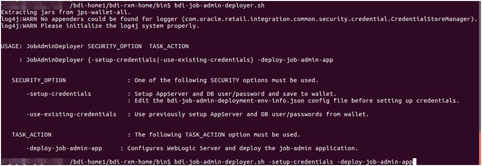 Deploying BDI Batch Job Admininistration Applications for Edge