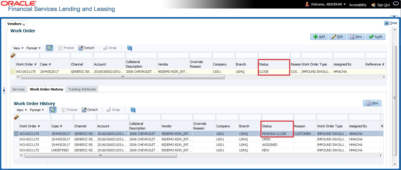 Appendix C :Generic Recovery Interface (GRI)
