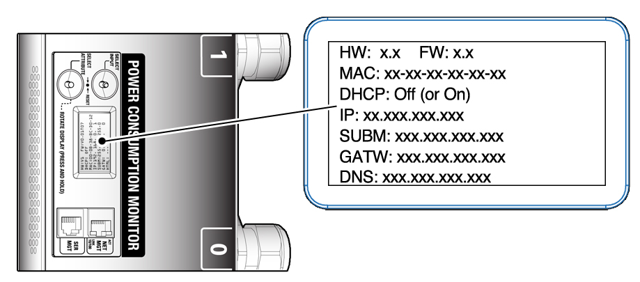 Connect an Enhanced PDU to a Static IP Address Network Through a