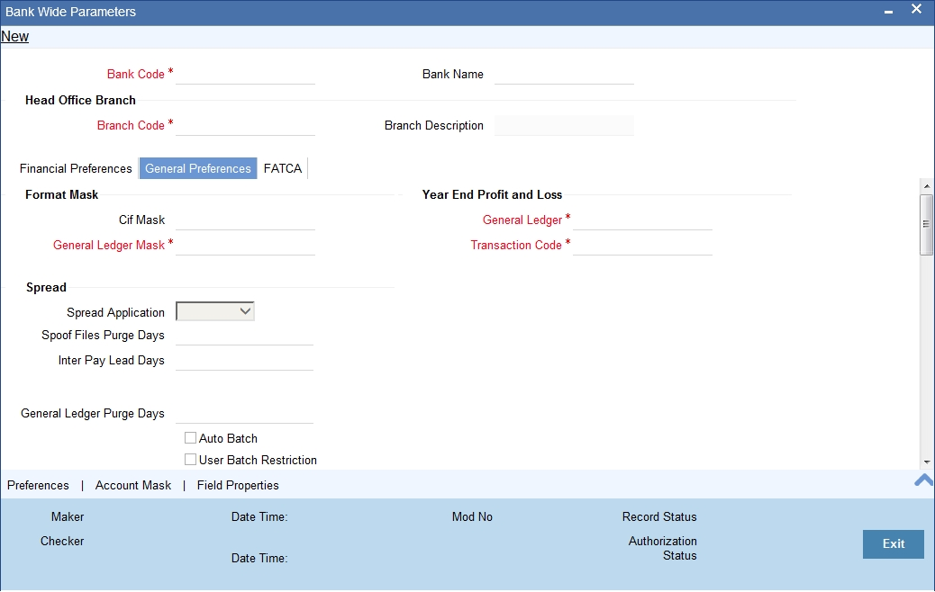 Bank Account Details Format