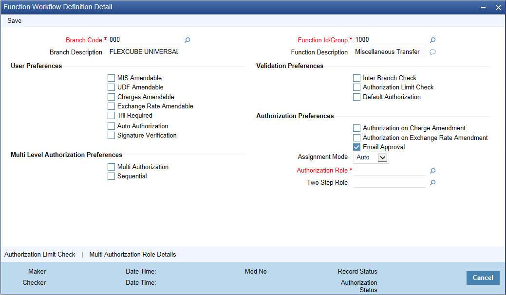 3  Transaction Workflow