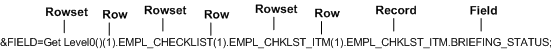 Rowset example