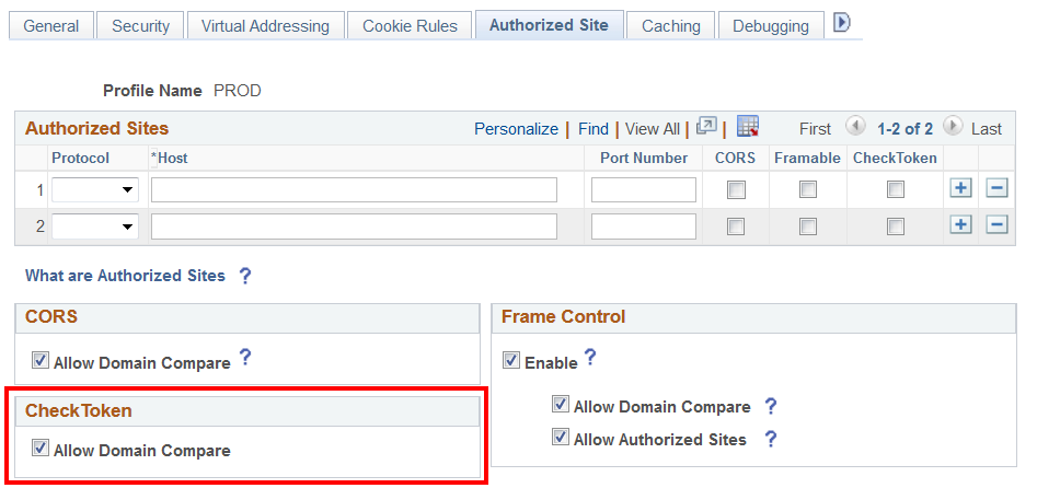 Implementing PeopleSoft-Only Single Signon