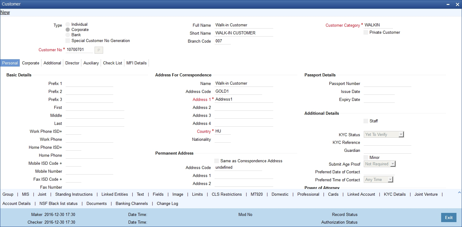 2  Maintaining Customer Information Files