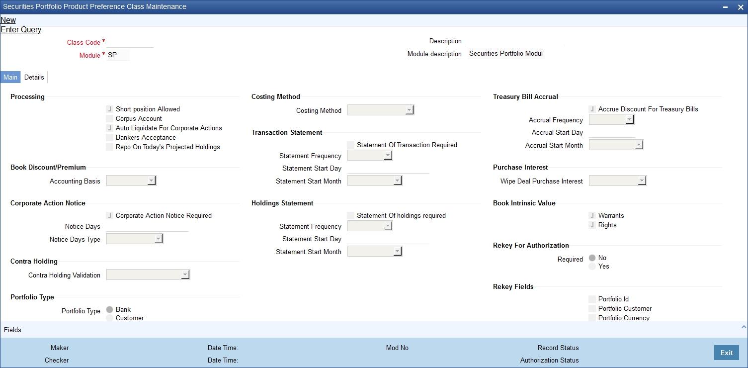 11. Maintaining Portfolio Preference Class