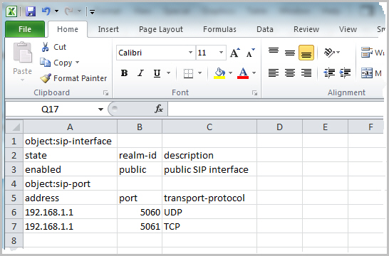 Import and Export the E-SBC Configuration