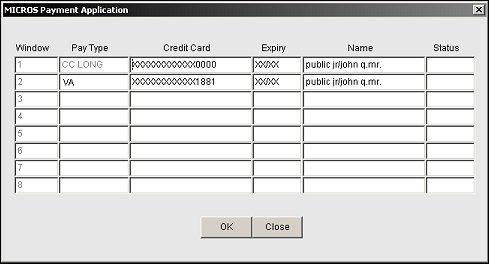 credit card vault