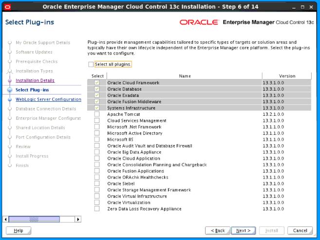 Installing Oracle Enterprise Manager Cloud Control