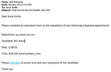 evaluation management