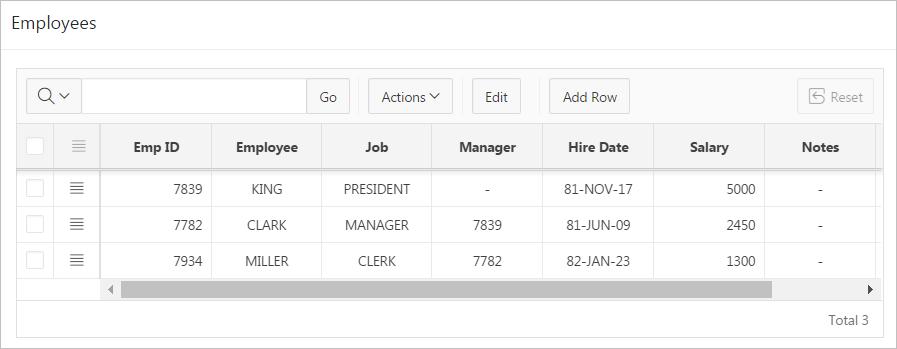 Managing Master Detail Forms