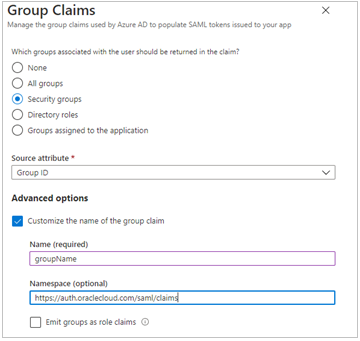 Federating with Microsoft Azure Active Directory