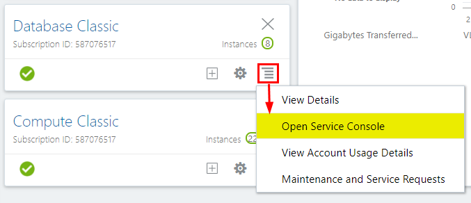 Administer Services with Oracle Analytics Cloud