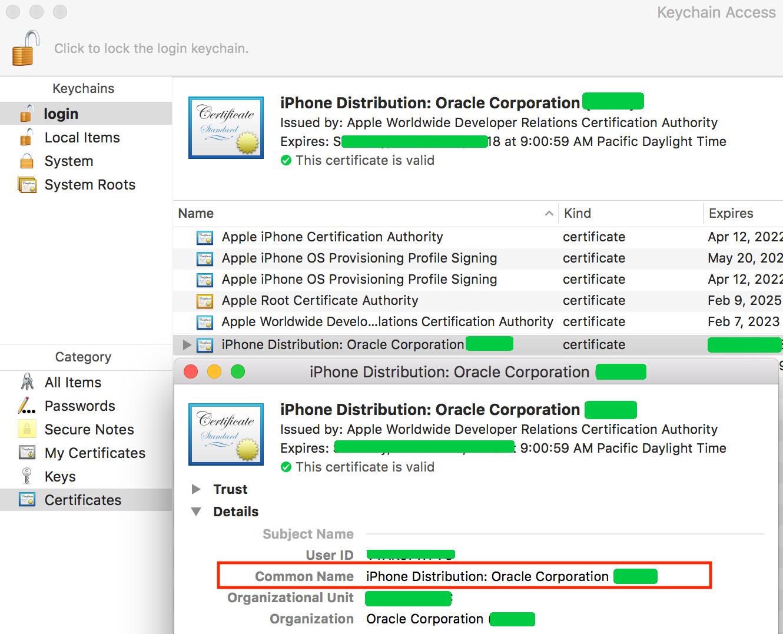 Define a Build Configuration for the iOS Platform