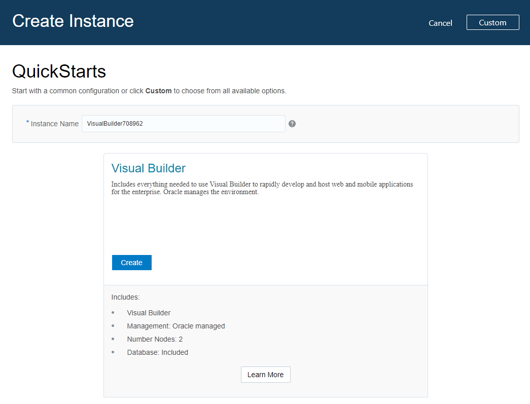 Migrate Your Oracle Visual Builder Instances to Oracle Cloud