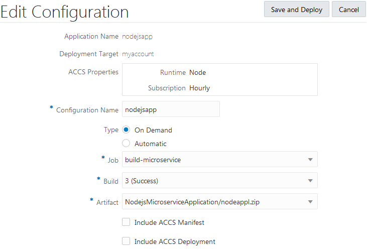 Migrate an Oracle Developer Cloud Service Instance to Oracle Cloud