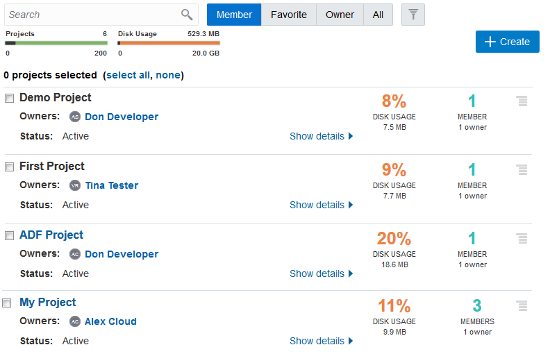 Migrate an Oracle Developer Cloud Service Instance to Oracle