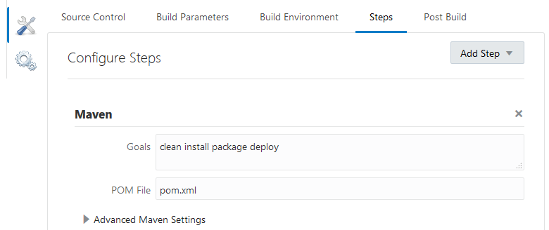 Configure and Run Project Jobs and Builds