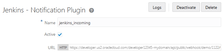 Send Notifications to External Software Using Webhooks