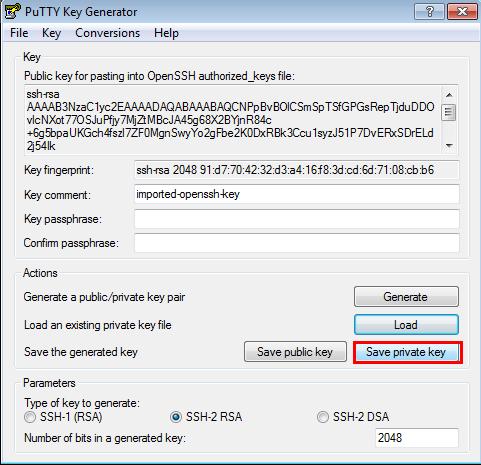 generate private key public key pair