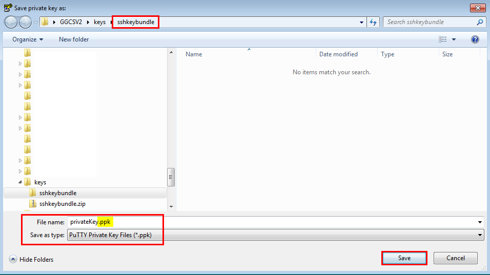 Change Private Key Format to Use with PuTTY