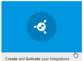 The Integrations diagram for creating and activating integrations