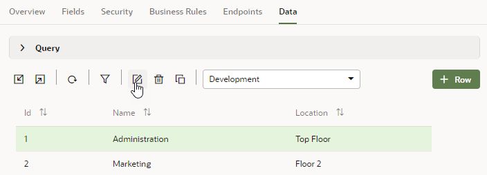 View and Edit Data in Business Objects
