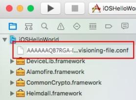 Quick Start Tutorial Using an iOS Application