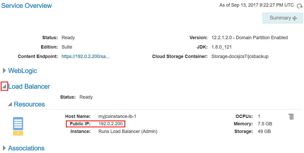 Deploying an Application to Oracle Java Cloud Service by Using the