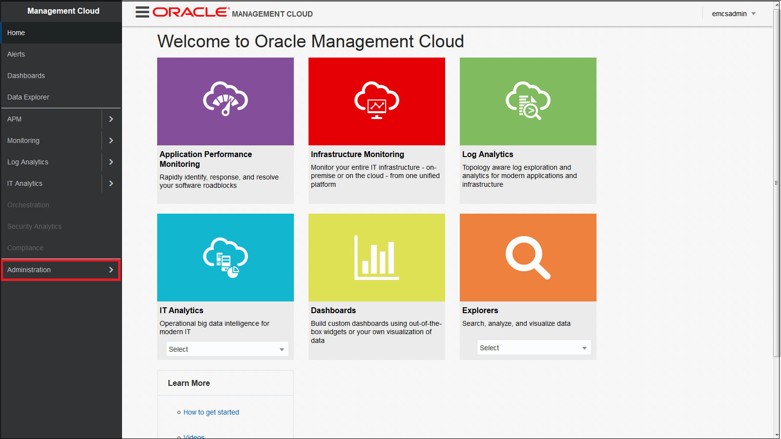 Installing Oracle Application Performance Management Agents