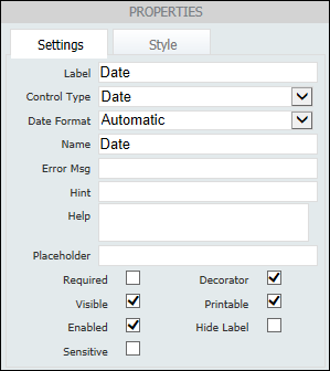 Creating and Editing Basic Forms