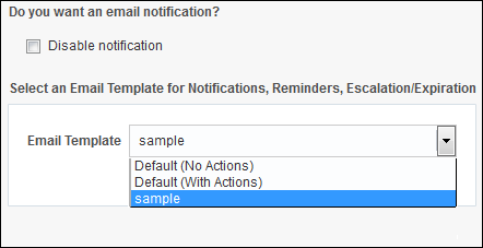 Customizing Notification Emails For Human Tasks