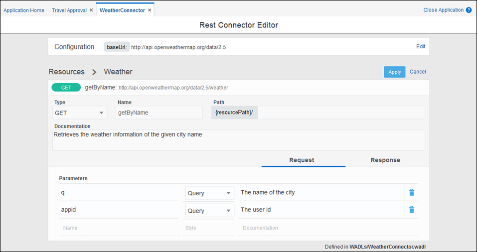 Creating REST and Web Service Connectors