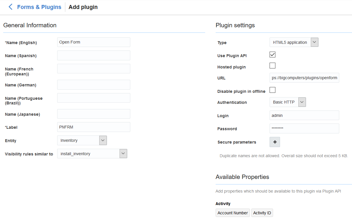 Configure and Use Plug-Ins