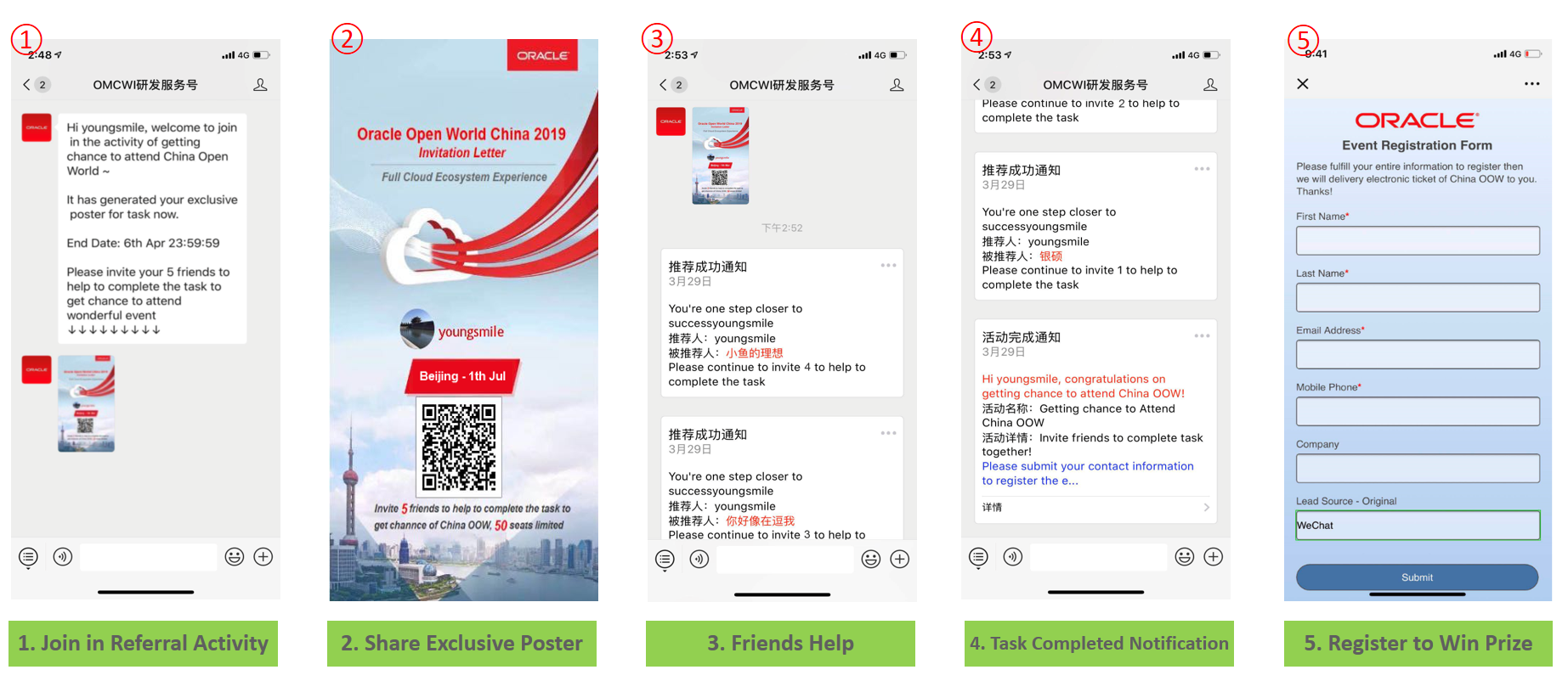 Formatting wechat text How To