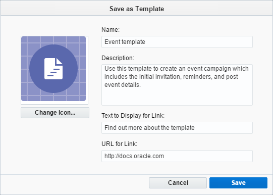 creating campaign templates