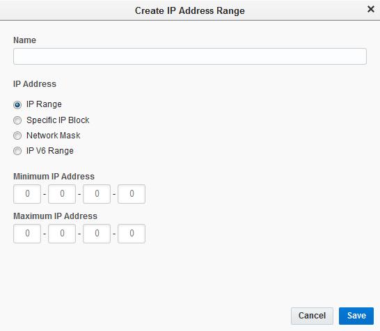 Restricting access using IP whitelisting