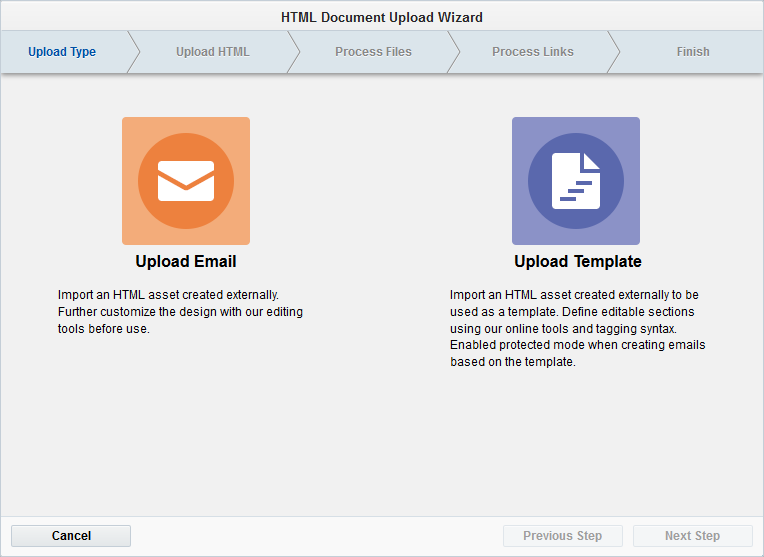 Uploading HTML Emails Or Templates - Build an html email template from scratch