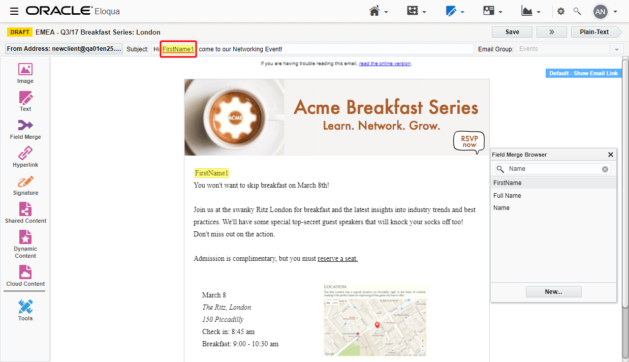 how to add images to email subject lines
