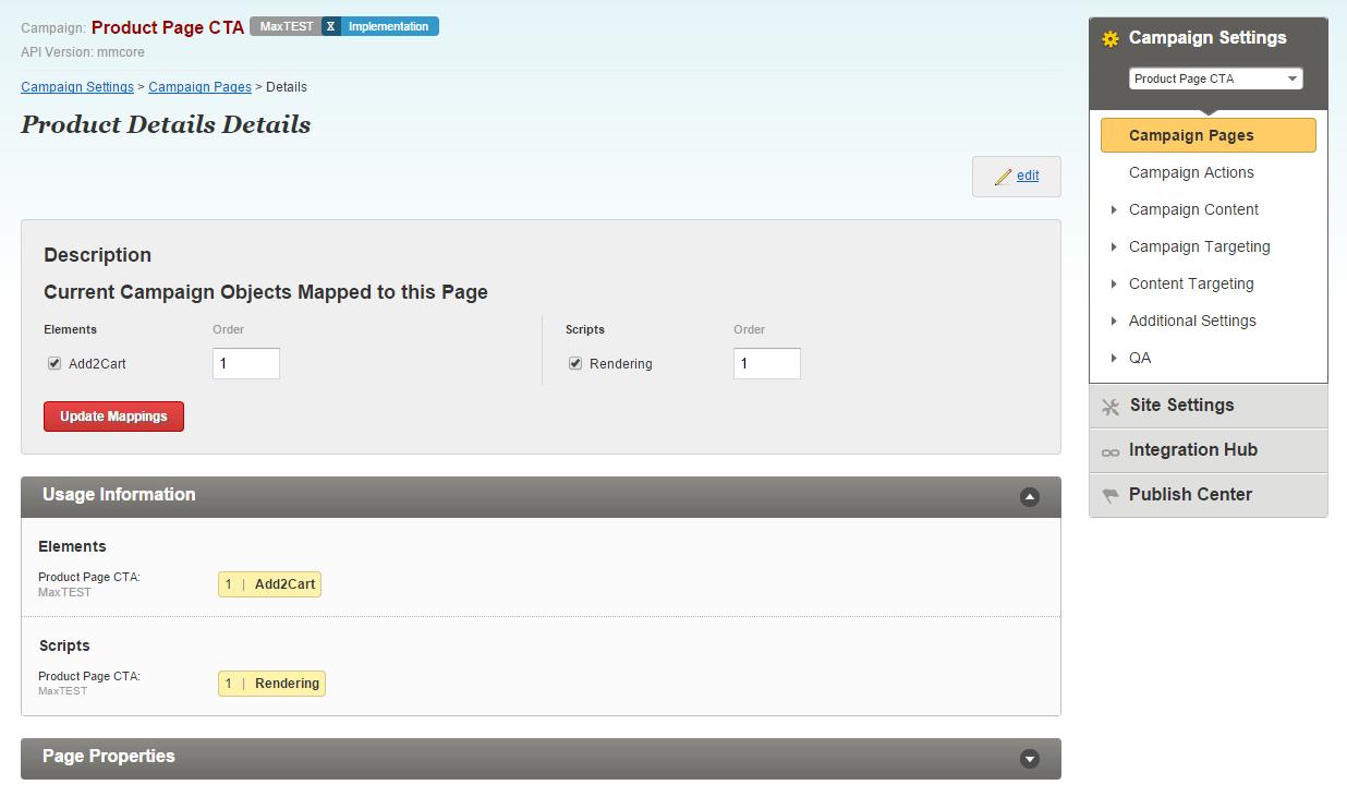Campaign Design Javascript API Guide