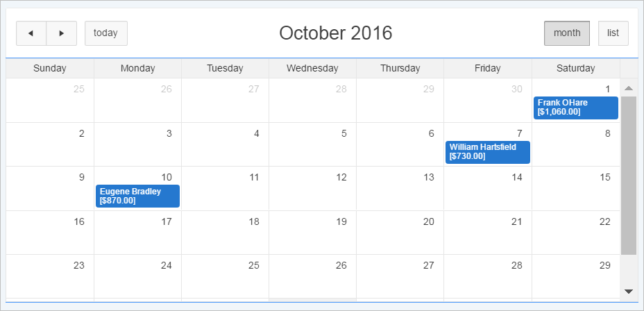Creating Calendars