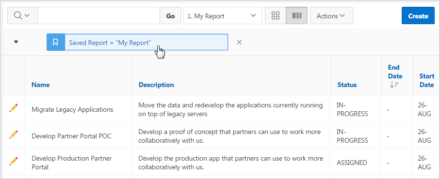 Oracle Apex Auto Refresh Interactive Report