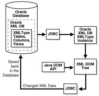 Java Dom Api For Xmltype