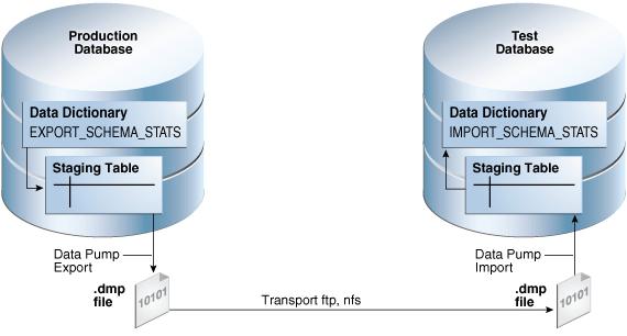 Importing and Exporting Optimizer Statistics