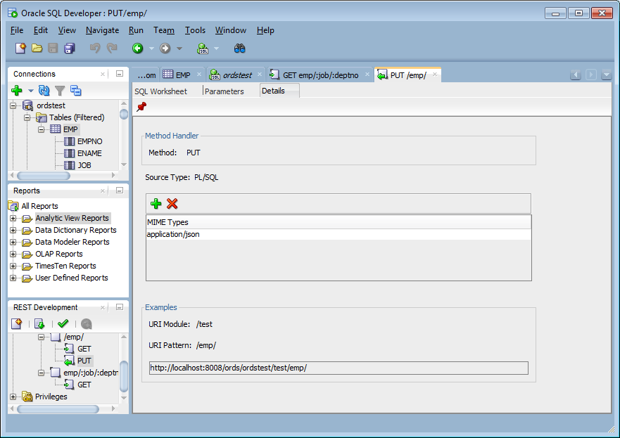 Developing Oracle REST Data Services Applications