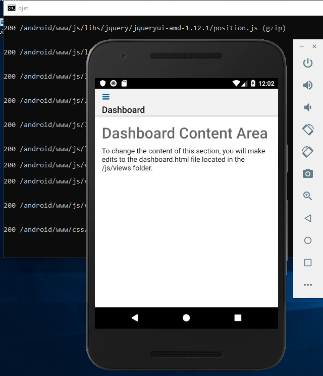 Create a Hybrid Mobile Application for Android