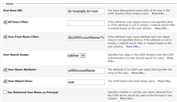 Configuring WebLogic to use LDAP